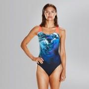 Speedo Női Fürdőruha Plmt Pbck Af Black/blue(uk) 8-06187C253