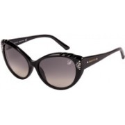 SWAROVSKI Cat-eye Sunglasses(Blue)