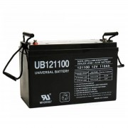 UPG 12V 110Ah AGM Solar Battery UB121100 Replaces Group 31