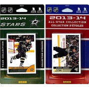 CandICollectables STARS13 NHL Dallas Stars Licensed 2013-14 Score Team Set & All-Star Set