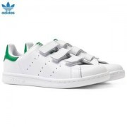 adidas Originals Stan Smith Velcro Trainers White Barnskor 31.5 (UK 13)