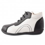 Pantofi copii, din piele naturala, marca Endican, 6616, negru