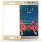TechGear Edge To Edge Tempered Glass for Samsung Galaxy J7 Max (Gold)