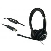 Casti Sandberg Plug'n Talk USB Black