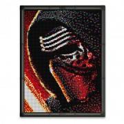 Puzzle Pixel Art Star Wars Kylo Ren Quercetti, 11400 piese, 9 ani+