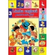 Limba engleza pentru cei mici. Vol. 3 + CD - Georgiana Lupescu