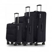 Conwood Soho black suitcase set