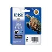 Epson T1577 Cartucho de tinta negro claro suave