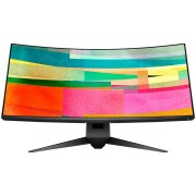 """Monitor IPS, DELL 34"""", Alienware, Curved, 4ms, 1000:1, NVIDIA G-SYNC, HDMI/DP, WQHD (AW3418DW-14)"""