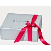 Cutie cadou din carton cu fundita roz- Greenland