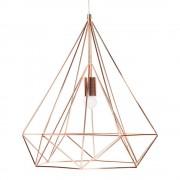 Maisons du Monde Lámpara de techo de metal D. 45 cm DIAMOND COPPER