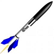 Semroc Flying Model Rocket Kit Maxi-Micron KA-34