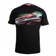 Мъжка тениска PUMA FERRARI SF GRAPHIC TEE - 761690-01