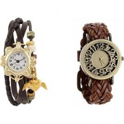 COSMIC MULTI COLOR DESIGNER PARTY WEARING WATCH - SET OF 2 - EVOLUTION-1 Analog Watch - For Girls Women