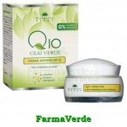 Crema antirid zi Q10,ceai verde,Complex MIneral Cosmetic Plant