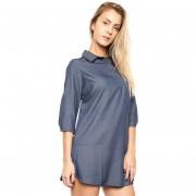 Fragil - Vestido Azul - Azul - 70601356