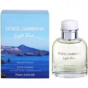 Dolce & Gabbana Light Blue Discover Vulcano Pour Homme Eau de Toilette para homens 75 ml