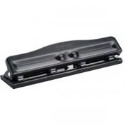 Quantore 4-gaats perforator zwart