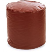 Home Story Round Ottoman Medium Size Tan Cover Only