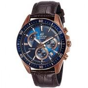 Casio Analog Blue Round Watch -EFR-552GL-2AVUDF (EX358)