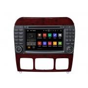 "Navigatie GPS Auto Audio Video cu DVD si Touchscreen 7 "" inch Android 7.1, Wi-Fi, 2GB DDR3 Mercedes-Benz CL-Class W215 1998-2005 + Cadou Soft si Harti GPS 16Gb Memorie Interna"