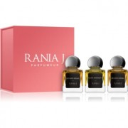 Rania J. Priveé Rubis Collection подаръчен комплект I. парфюмна вода 3 x 5 ml