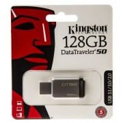 Kingston Chiavetta USB 128 GB No USB 3.0 TLC No 0 → +60°C, DT50/128GB