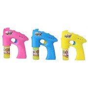 MWT TOYZ Bubble Gun with Bubbles Bottle Set for Kids, Birthday Parties (Assorted Colour)