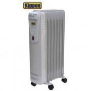 Stufa elettrica ad olio/Radiatore oleodinamico 7 elementi 1500W
