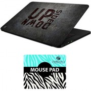 FineArts Combo of Quotes - LS5764 Laptop Skin and Mouse Pad