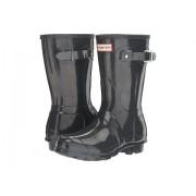 Hunter Original Short Gloss Rain Boots Dark Slate