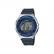Reloj Digital Hombre Casio W-216H-2A - Negro con Azul