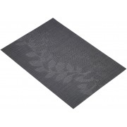 KitchenCraft Platzmatte PVC - Black leaves