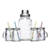 Bar Craft Cocktail Kit med Glas och Shaker 5 delar