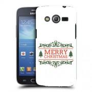 Husa Samsung Galaxy Core 4G LTE G386F Silicon Gel Tpu Model Craciun Merry Christmas