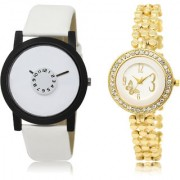 The Shopoholic White Combo Best Combo Pack White Dial Analog Watch For Boys And Girls Watches Men Stylish