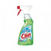 Clin Solutie de curatat geamuri, mar verde, 500 ml