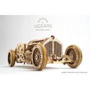 Masina U-9 Grand Prix UGEARS Kit (348 piese)