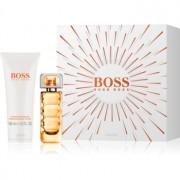 Hugo Boss Boss Orange lote de regalo VII. eau de toilette 30 ml + leche corporal 100 ml