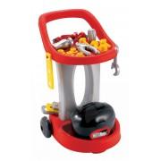 Écoiffier cărucior de lucru Mecanique 2302 roşu-argintiu