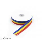 Bandă tricolor - diferite dimensiuni (rolă)