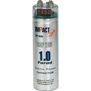 CAP100 Impact condensatore 1 farad per impianti car audio