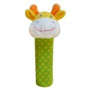 Jucarie plus cu zornaitoare - Girafa verde
