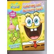 SpongeBob SquarePants Coloring & Activity Book (Includes Stickers) ~ SpongeBobs Surprise