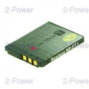2-Power Digitalkamera Batteri Sony 3.6v 700mAh (NP-FT1)