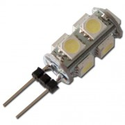 LED žárovka G4 9xSMD 1.5W studená bílá - cool white