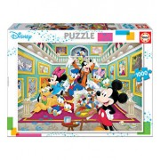 Puzzle Mickey Art Gallery, 1000 piese
