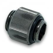 Fiting adaptor (niplu dublu) extensie EK Water Blocks EK-AF Extender 12mm M-M G1/4 - Black Nickel