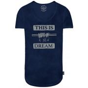 Jack&Jones Shirt pentru bărbați Jordrapper Tee Crew Neck Estate Blue M