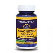 Magneziu Organic cu B-Complex 60cps HERBAGETICA